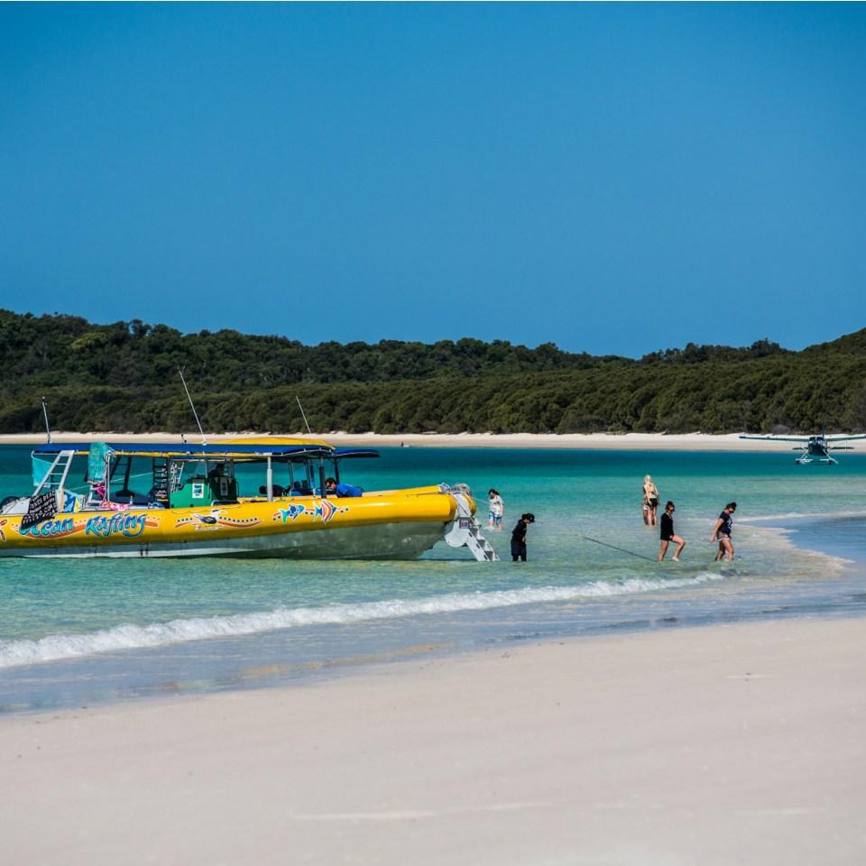 Whitehaven Ocean rafting boat