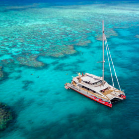 Explore the Great Barrier Reef with Passions