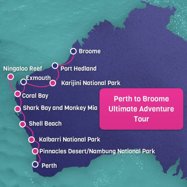 Ultimate Adventure Tour Perth to Broome