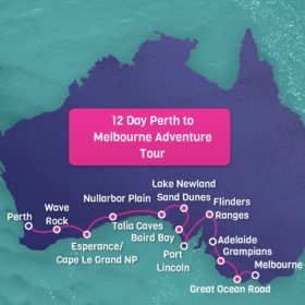 12 Day Perth to Melbourne Adventure Tour