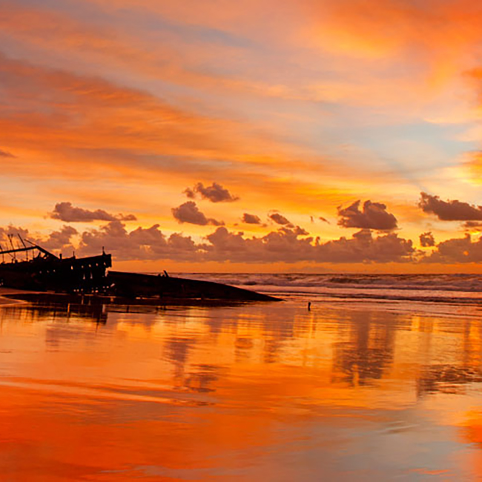 fraser island tours sunset