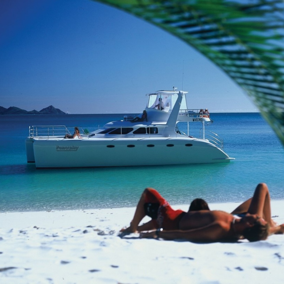Powerplay 2 Day 2 Night James Bond Catamaran Boat