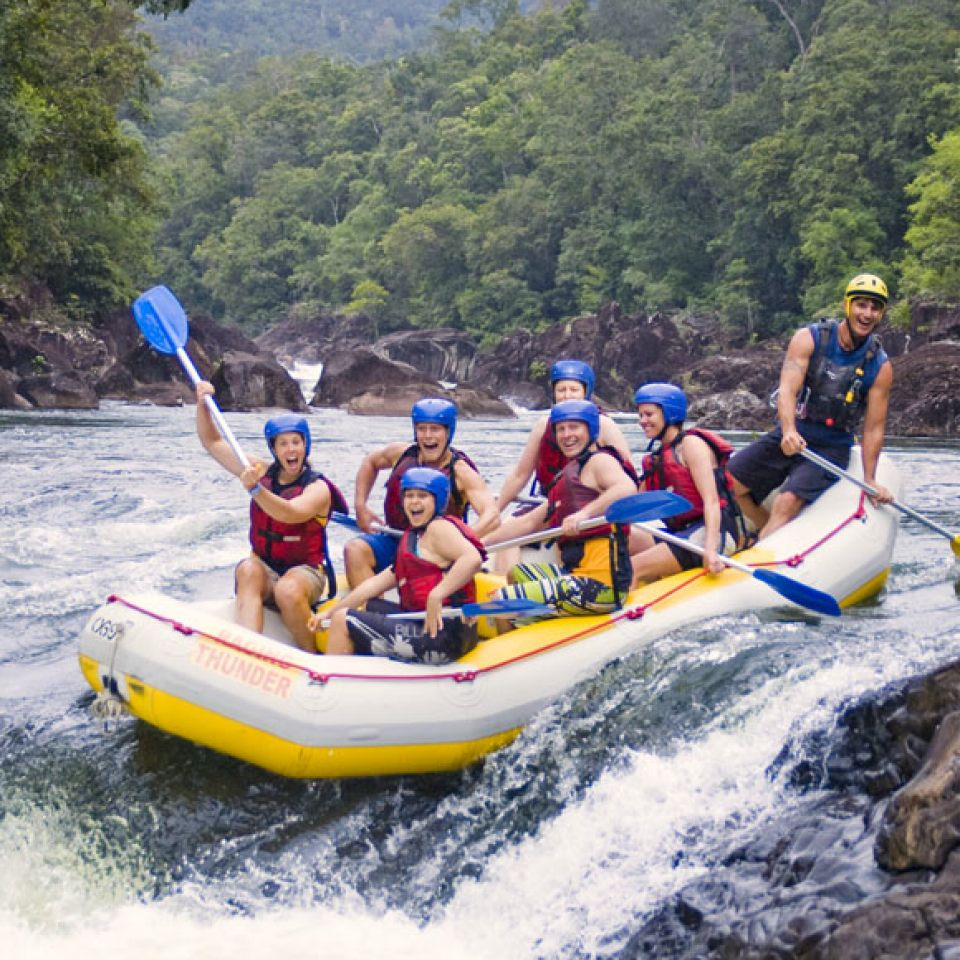 Tully River Xtreme Rafting from $229