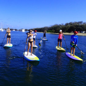 Gold Coast Waves and Waterways package - 2 nights plus 2 hour surf lesson and 2 hour SUP Tour