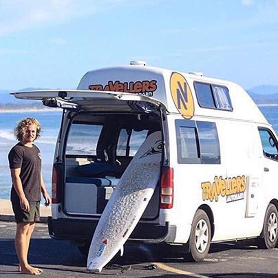 Camper van Surf Trips Australia