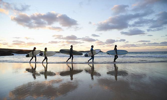 east coast tours surf boards