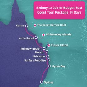 14 Day Budget East Coast Sydney to Cairns Tour