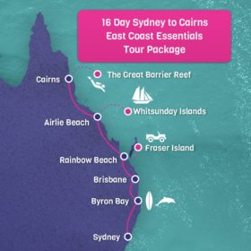 Sydney to Cairns East Coast Essentials Tour Package 16 Days