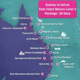 Sydney to Cairns East Coast Nature Lover's Package - 26 days