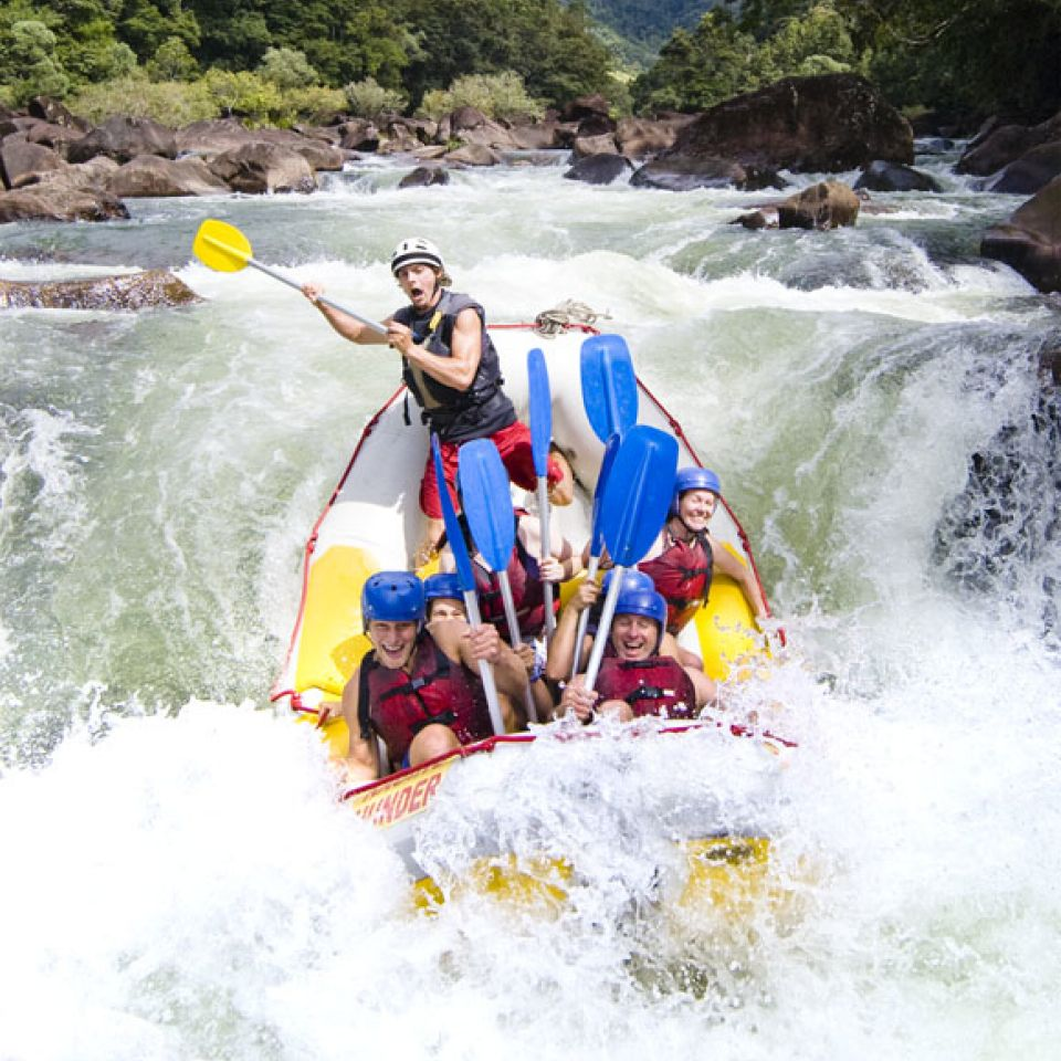 Rafting Queensland