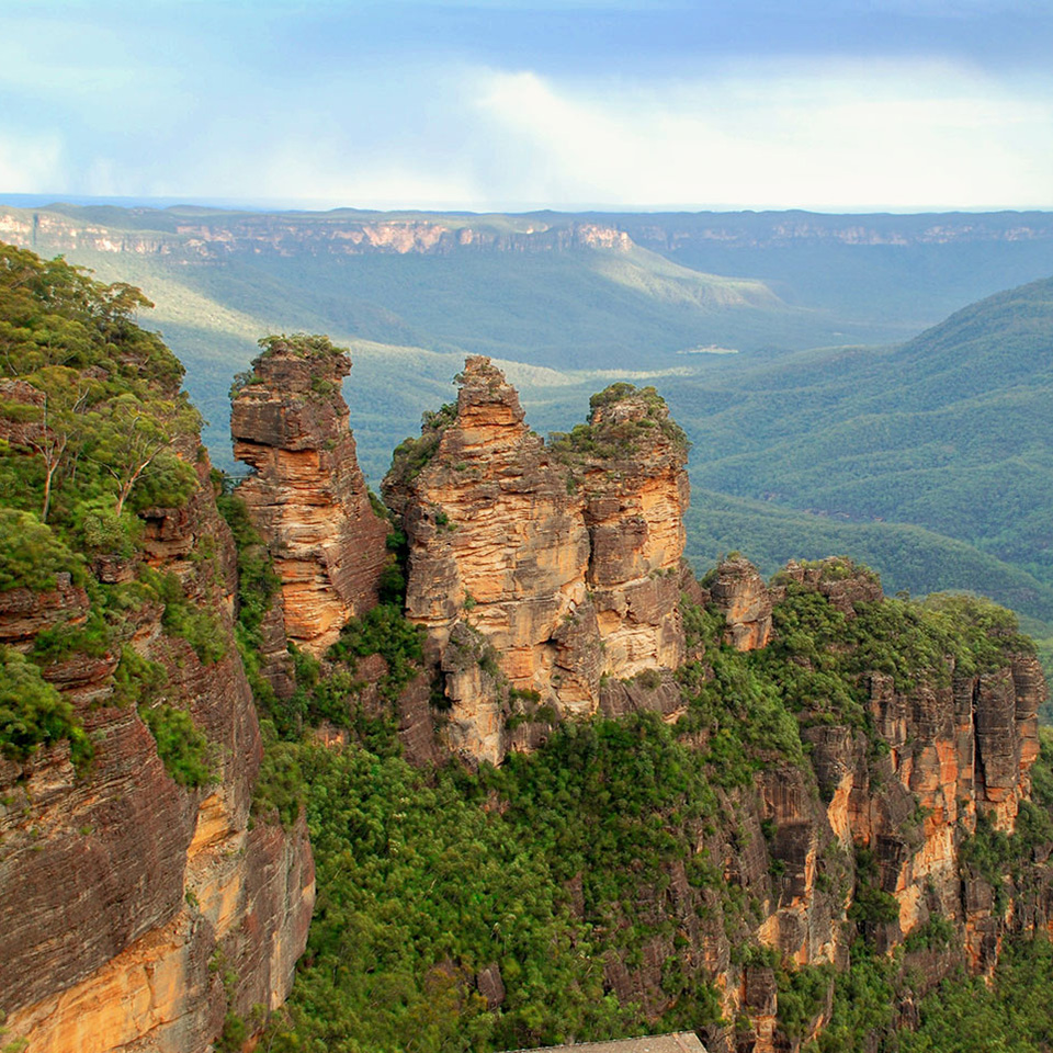 east coast blue mountains