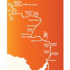 Ultimate Adelaide to Alice Springs Trip