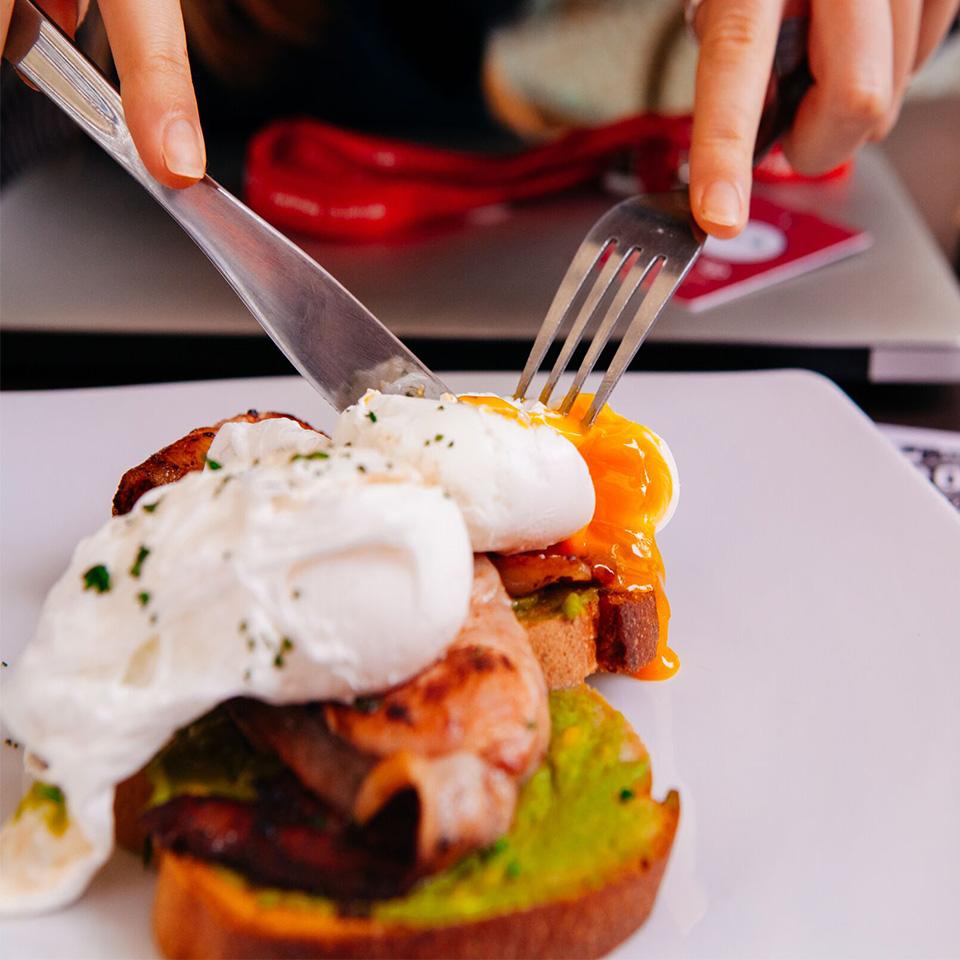 Breakfast Roy's Cafe Wake Up Sydney