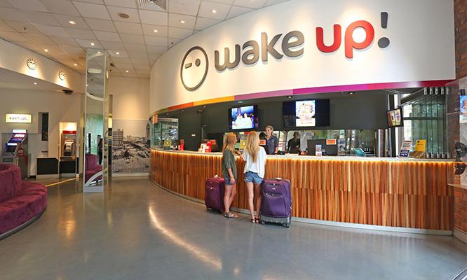Sydney Wake Up Reception