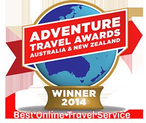 Adventure Travel Awards Australia - Winner 2014