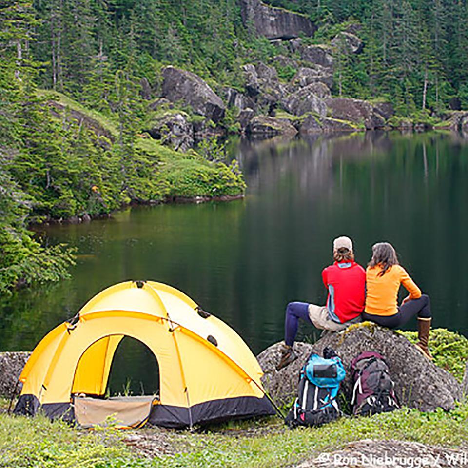 road trip camping