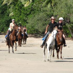 Horse Ride CApe Trib