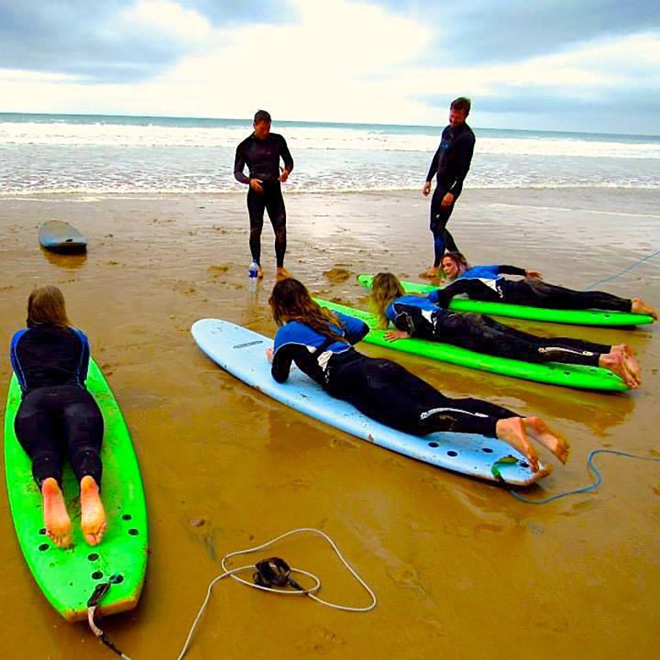 east coast tours surf lessons