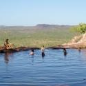 Gunlom Falls Swimming