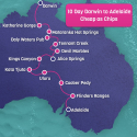 Cheap as Chips Darwin to Adelaide 10 Day