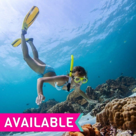 Reef and Waterfalls Package Deal with 3 nights