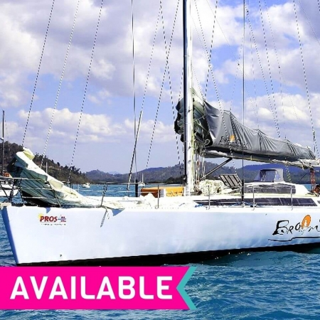 4 Day Whitsundays Sailing Tour with Broomstick