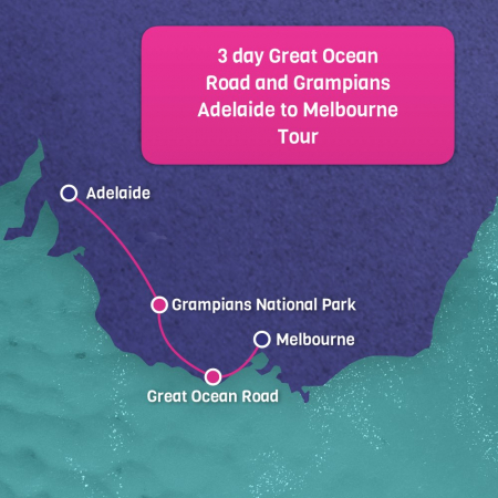 Adelaide to Melbourne 3 day Grampians tour