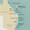 Island Suntanner Sydney to Cairns Map