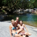 Atherton Tablelands Soaking up the rays