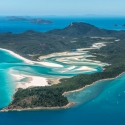 From the air Whitsundays