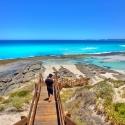 Esperance stairs to beach