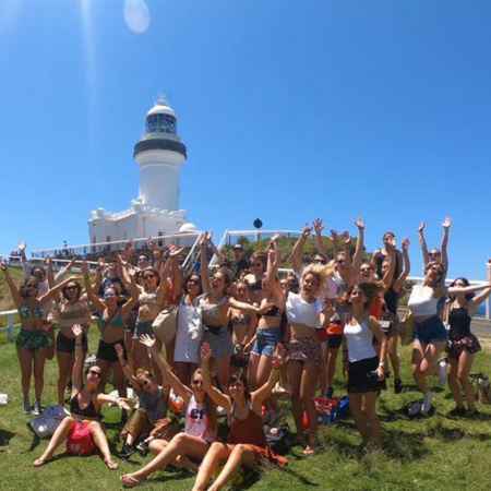 Group Shot Byron Bay