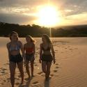 Sand Dune Sunset Fraser Island