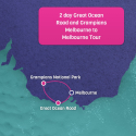 Great Ocean Road and Grampians Map