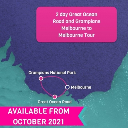 2 DAy Great Ocean Road and Grampians Melbourne to Melbourne tour