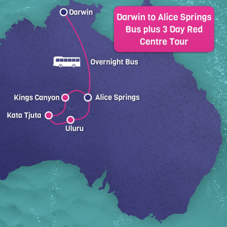 Darwin to Alice Springs tour