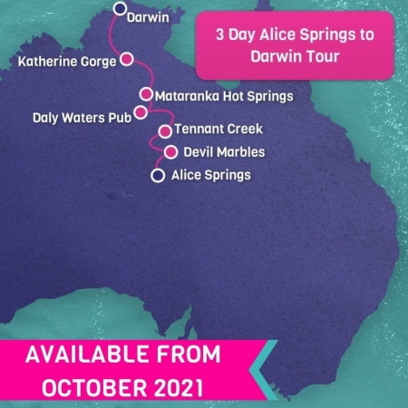 3 day alice springs to darwin tour