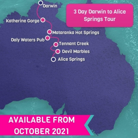 3 day darwin to alice springs tour
