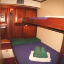 Double bed on the solway lass