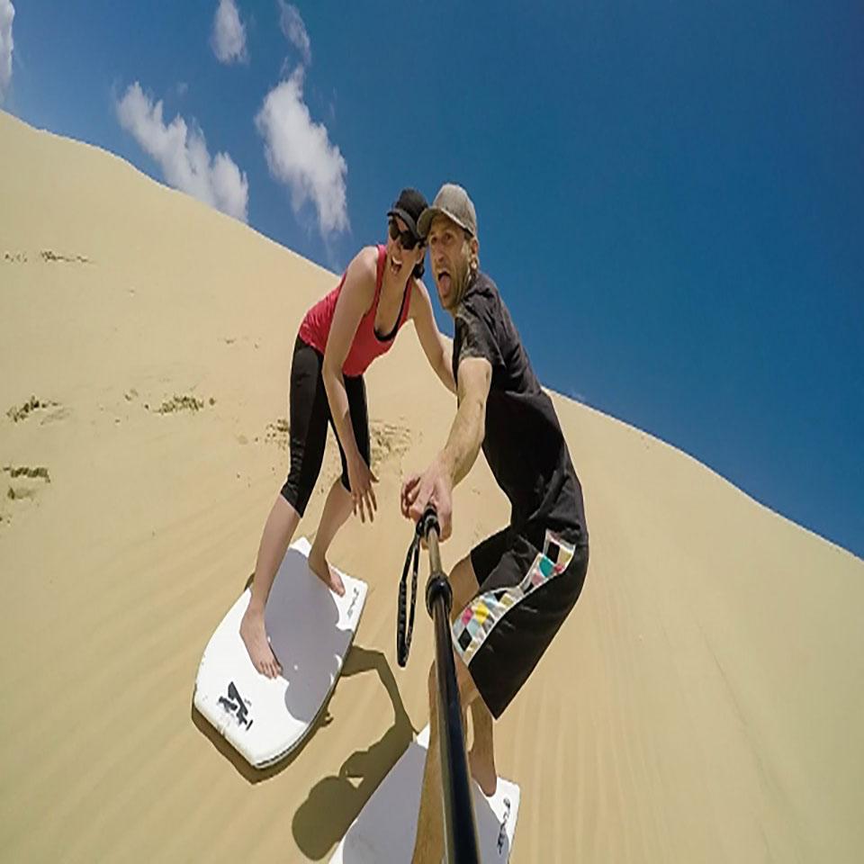 One stop adventures sandboarding