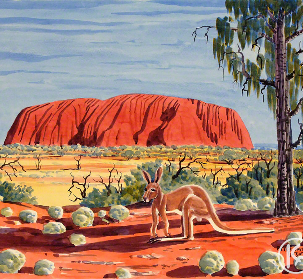 alice springs tours uluru art